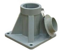 Base para pluma de aluminio portátil