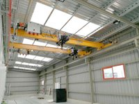 STADLER RAIL Project: Bridge crane monorail