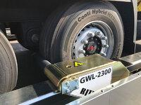 Detalle del sistema de bloqueo de rueda de WHEEL-LOK