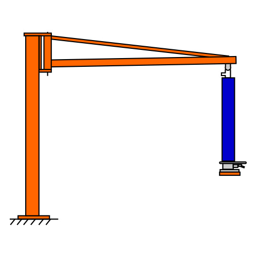 Suspension system for TROMPEX