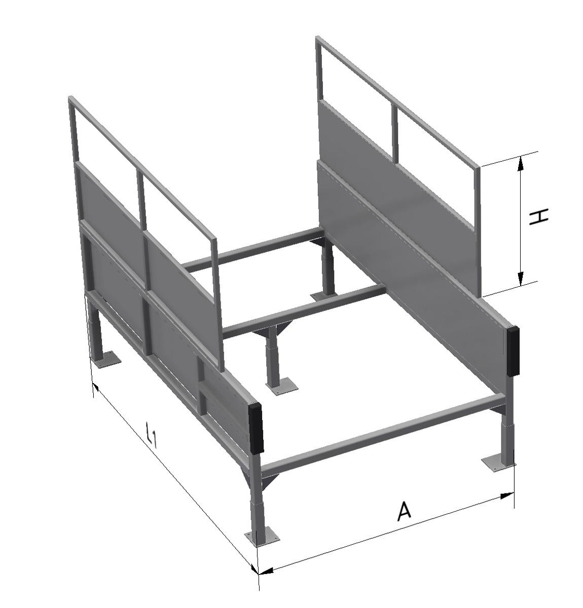 Estructura sin pasillos