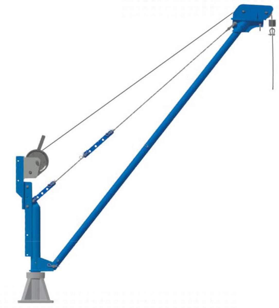 Potence en aluminium portable COMALU 500T