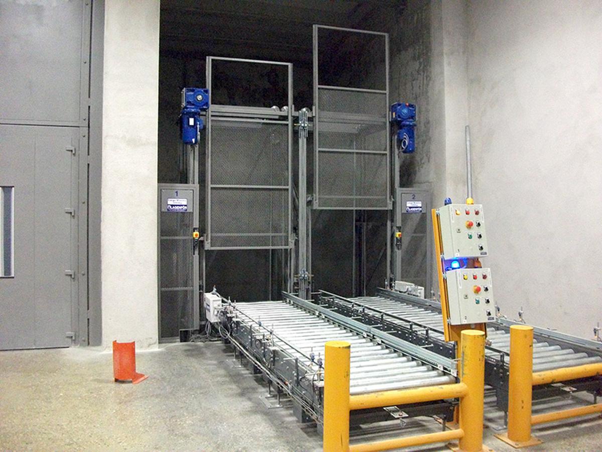 Elevador automático de palets 02