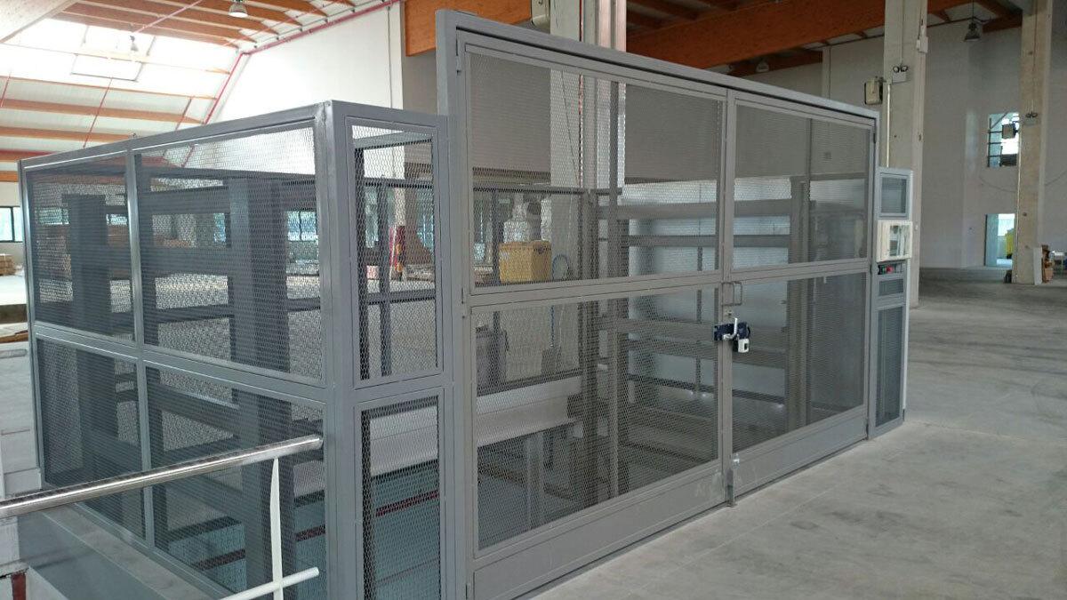 Plataforma elevadora PLT. Maderas García