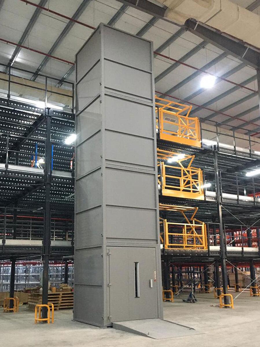 Elevador industrial PLT-S de Vinca