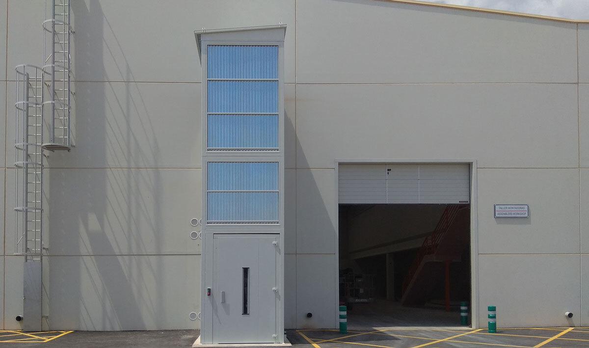 Vista exterior del proyecto finalizado