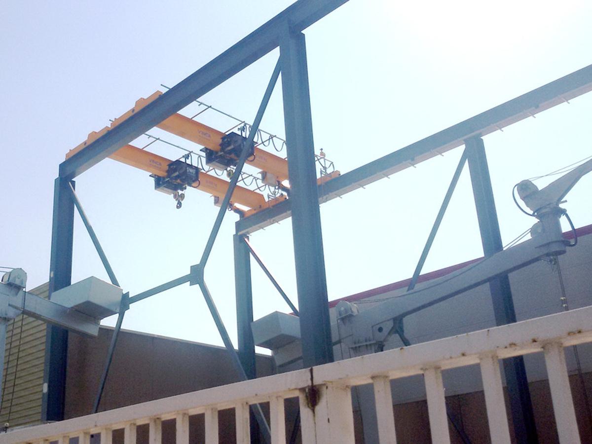 Pont roulant de grue Monorail ATECHBCN