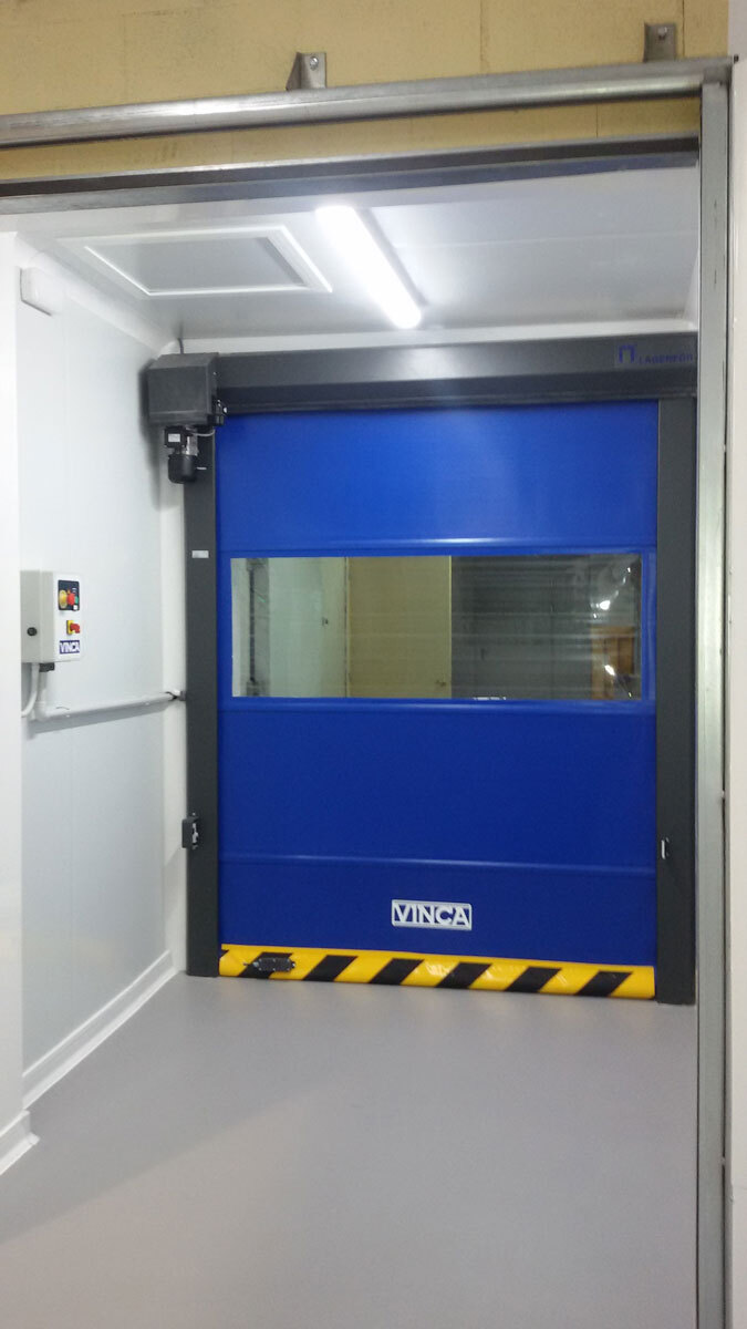 Puerta industrial practic roll 05