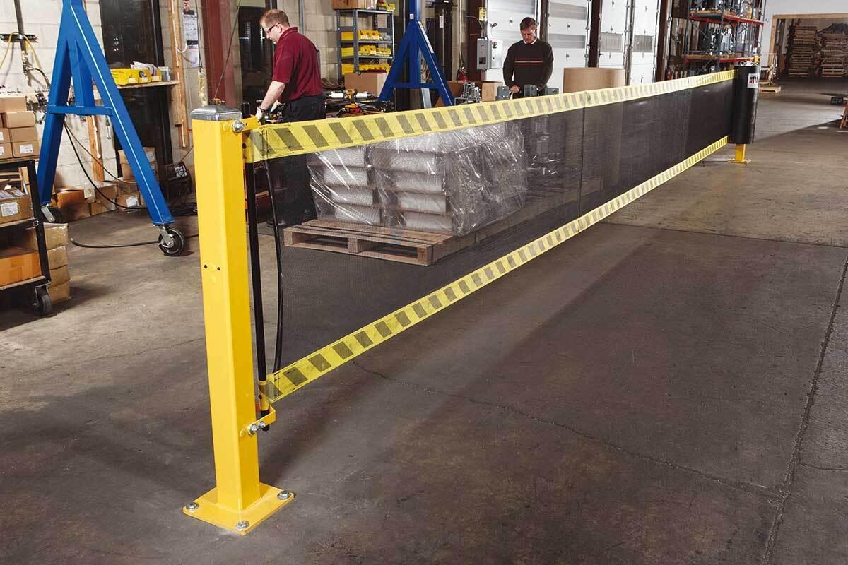 SPANGUARD Safety barrier