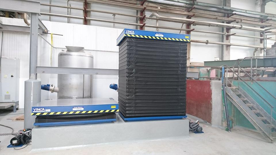 61.0 Mesas elevadoras reforzadas HM Gelatines Juncà