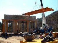 Proyecto SALVADOR SERRA: Puente grúa birrail