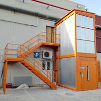 Proyecto CARTONAJES LA PLANA: PLT electrohidráulico de doble bastidor