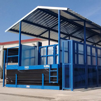 Proyecto JORGE PORK MEAT: Plataforma elevadora de tijera en tándem