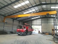 Proyecto TRANS. LAZARO: Puente grúa monorail
